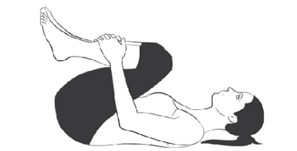 Ép gối về phía ngực